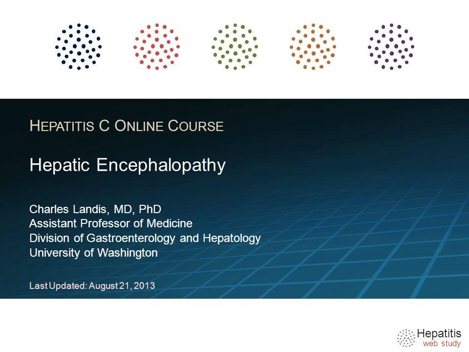 Hepatitis web study Disclosure Slide Dr.
