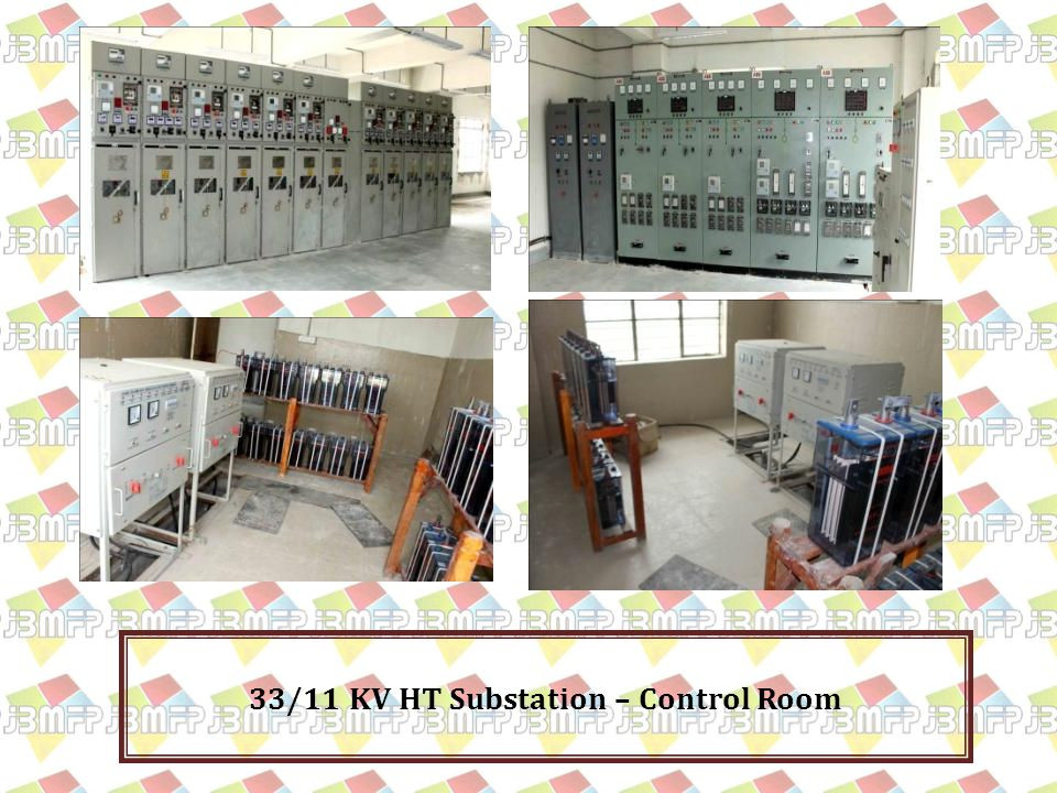 33/11 KV HT Substation – Control Room