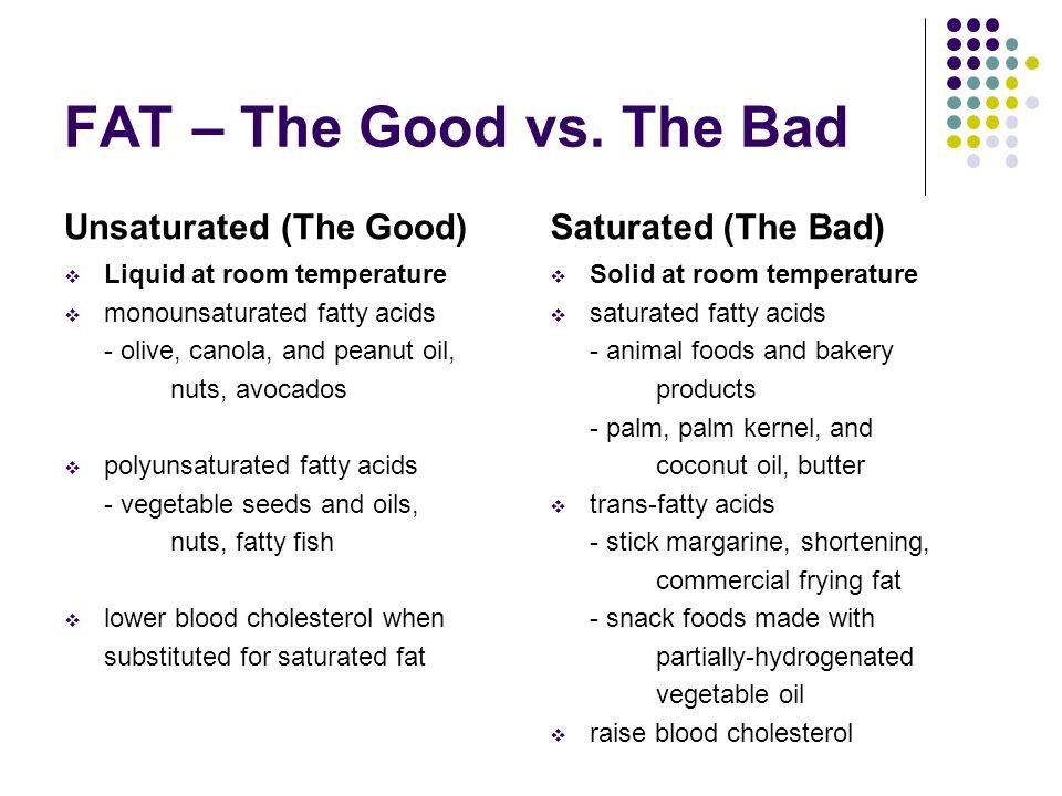 FAT – The Good vs.