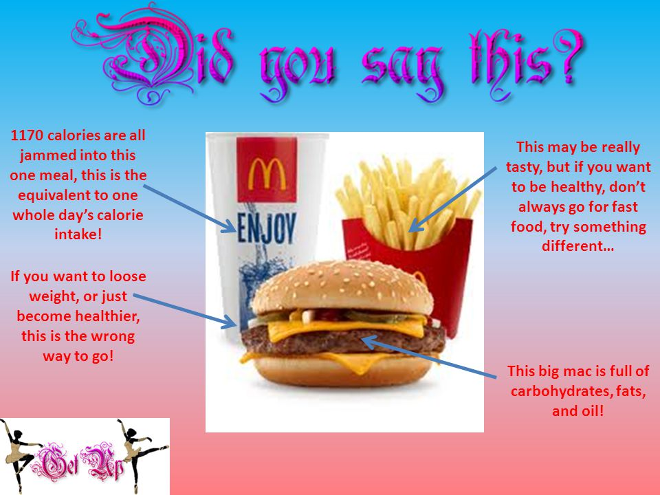 This big mac is full of carbohydrates, fats, and oil.