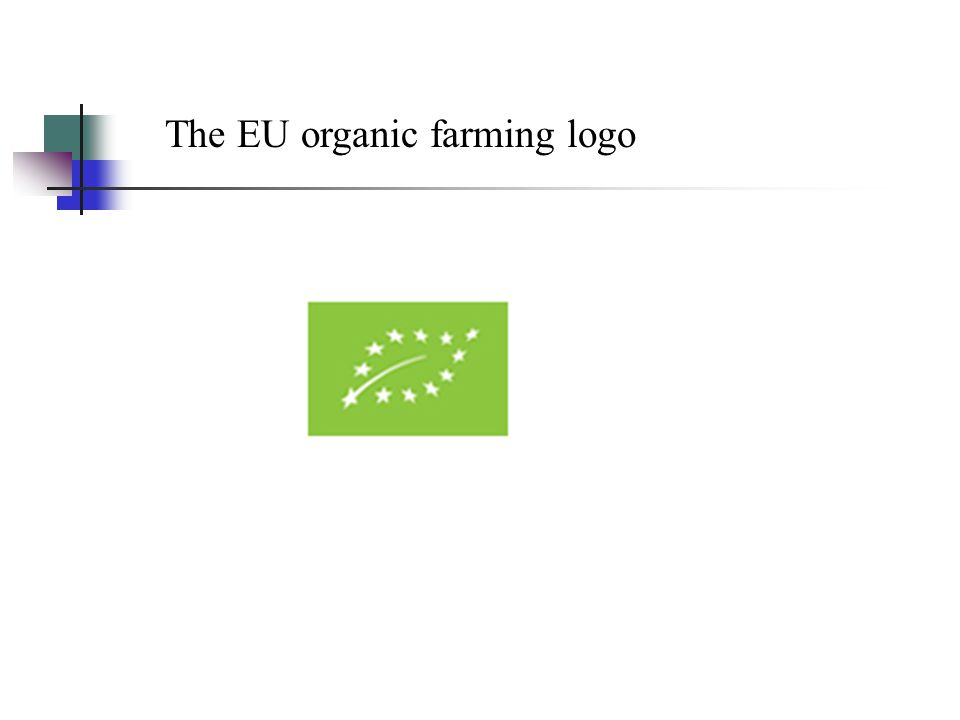 The EU organic farming logo