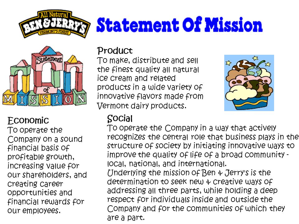 Ben and Jerry's Ice cream quickly became well known for its rich, unusual flavors and community approach to business.