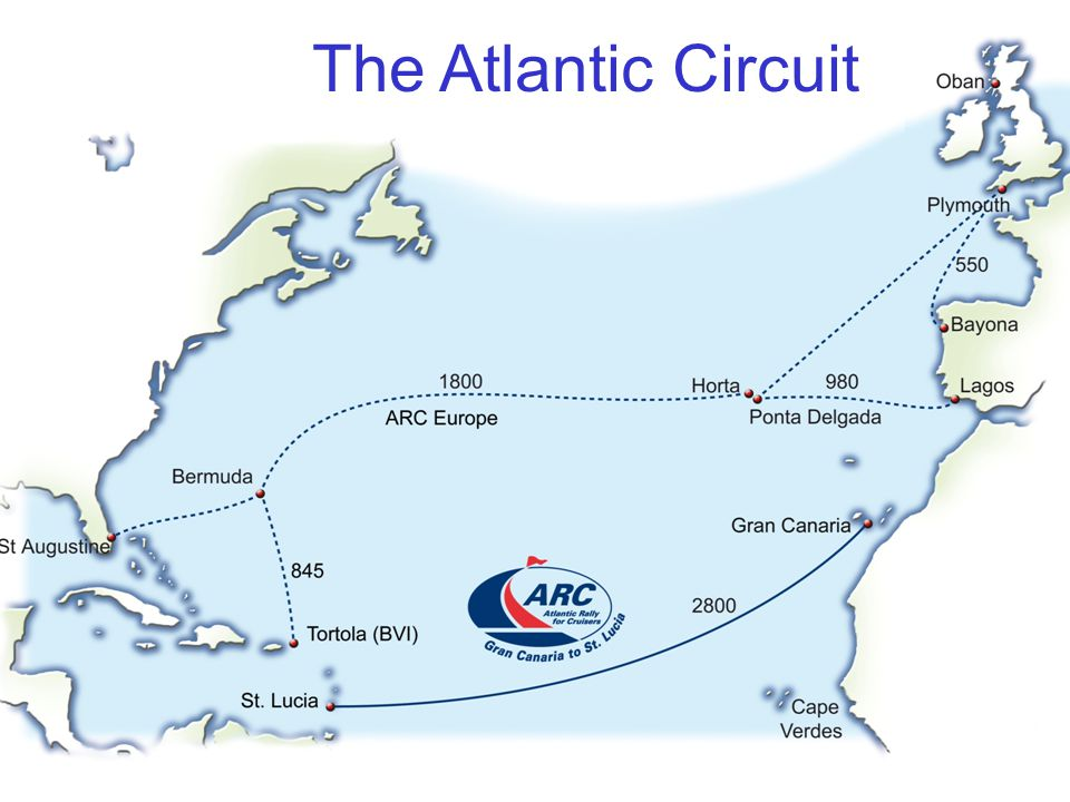 WCC Organise Sailing Events Atlantic Rally for Cruisers (ARC) ARC Europe Rally Portugal World ARC Caribbean 1500 Cruising Seminars