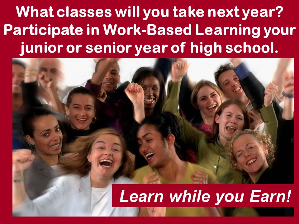 What classes will you take next year.
