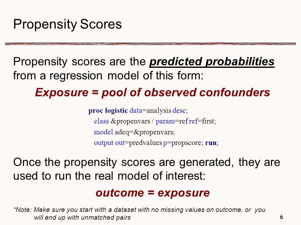 Propensity Score Example: Using 2003 Natality Data for Illinois 37