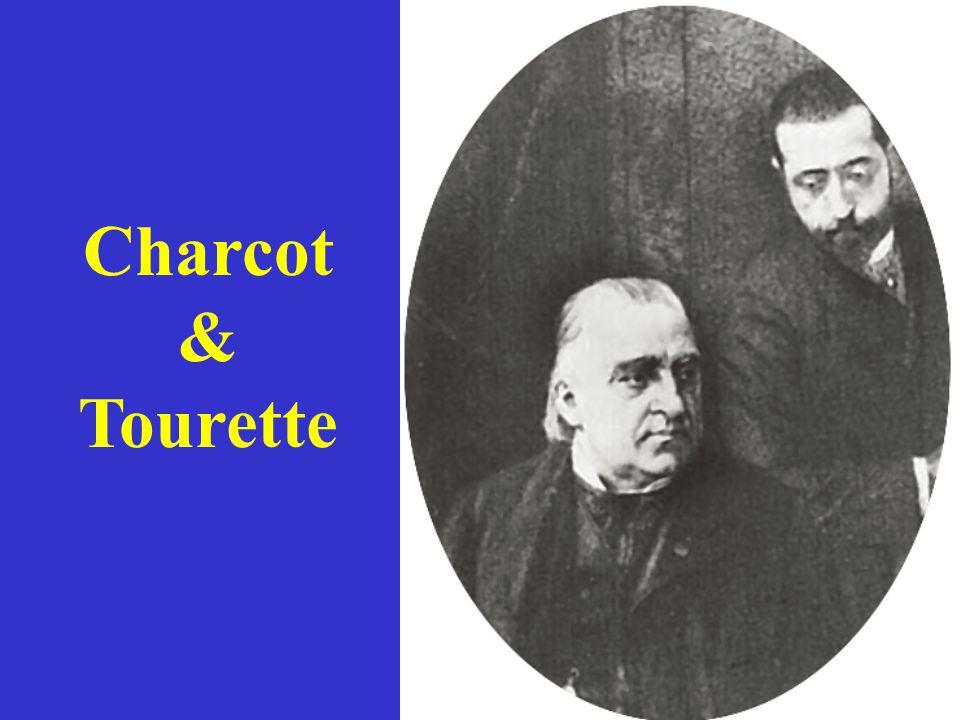 Historical timeline of Tourette syndrome events