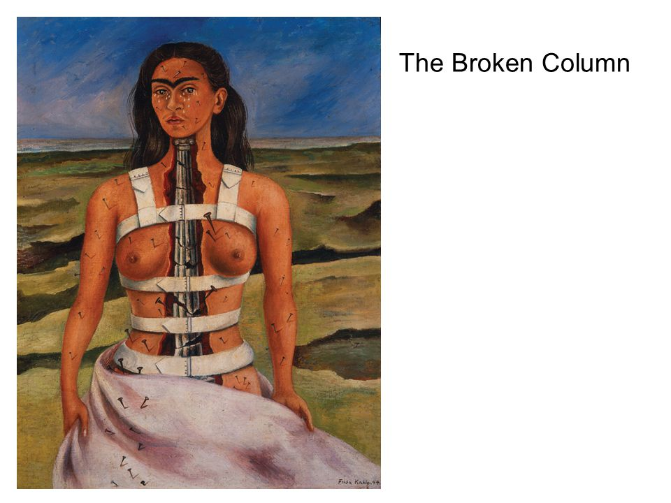 The Broken Column
