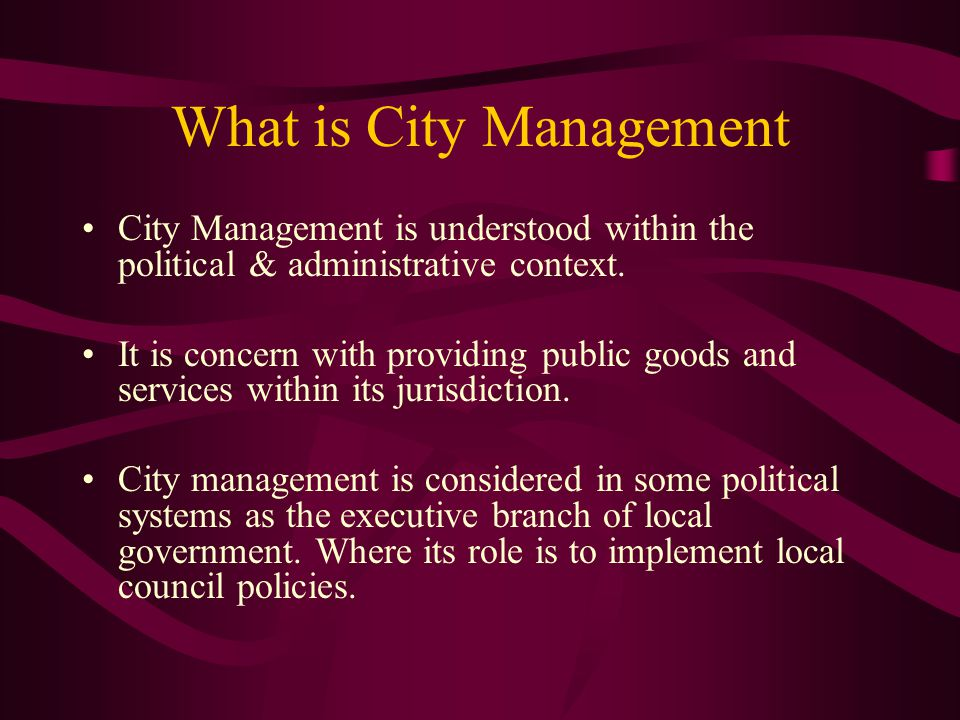 The Role of cities in the Economy Performing crucial services and production Cities account for about 2/3 of the national output.