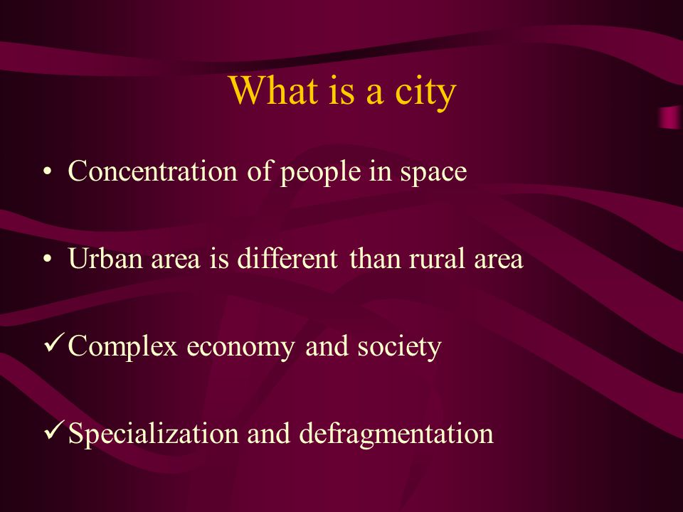 The Challenge of Urban Management The solution to urban problems depend on effective urban management.