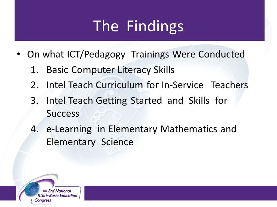 Analysis: continued Approaches to teaching and learning, administrative and supervisory roles became technology-based as facilities and equipment were updated and enhanced.