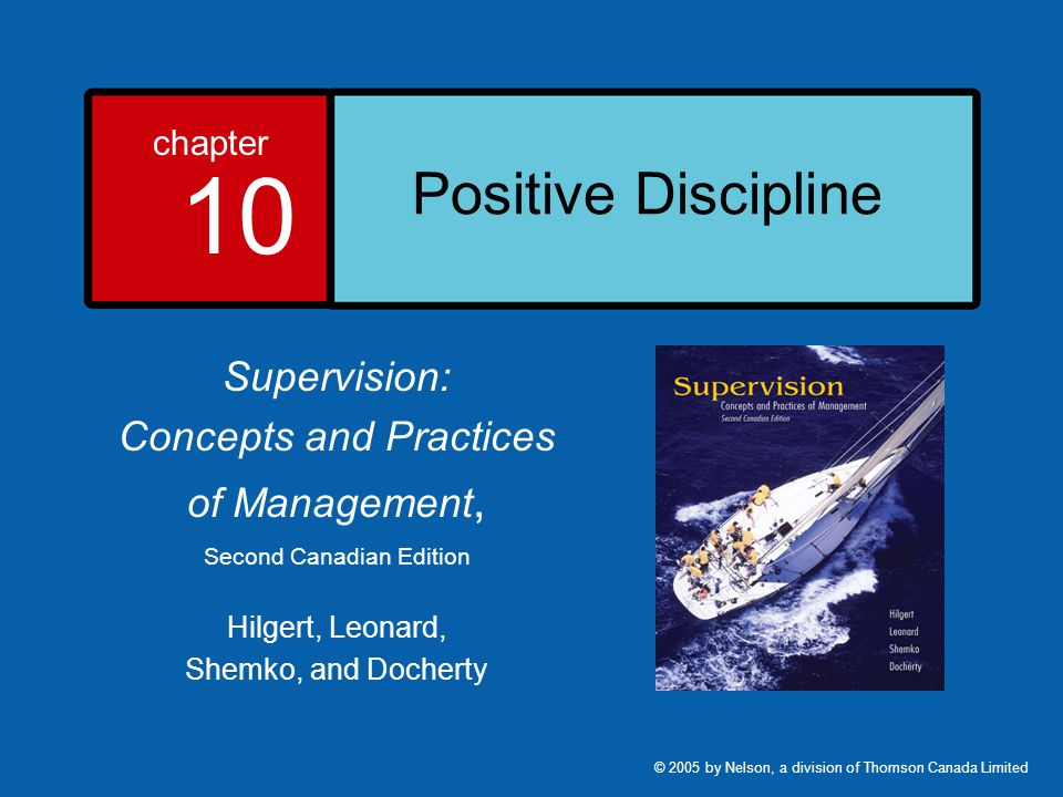 10-2 Learning Objectives 1.Discuss the basis and importance of positive discipline in an organization.