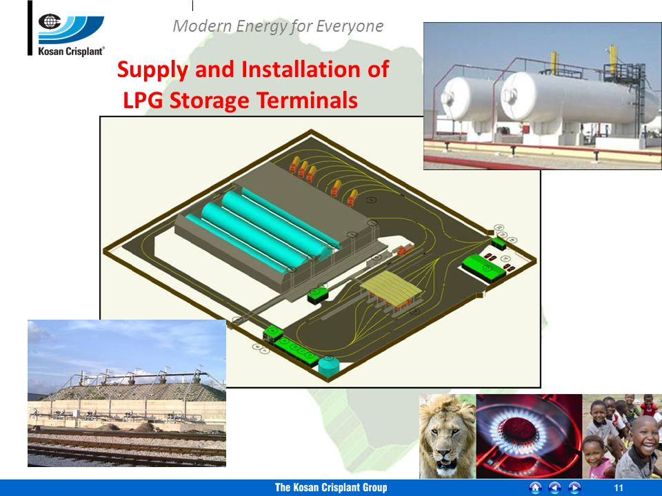 11 Supply and Installation of LPG Storage Terminals Modern Energy for Everyone