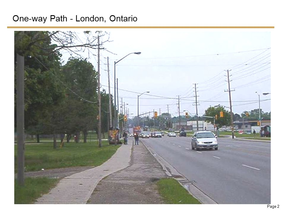 Page 2 One-way Path - London, Ontario