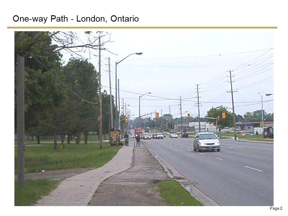 Page 13 Proposed Path Concept - Eglinton Avenue West, Toronto