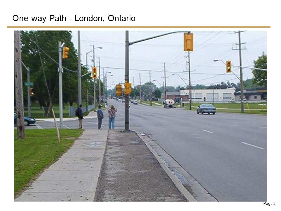 Page 4 Two-way Path - Burlington, Ontario