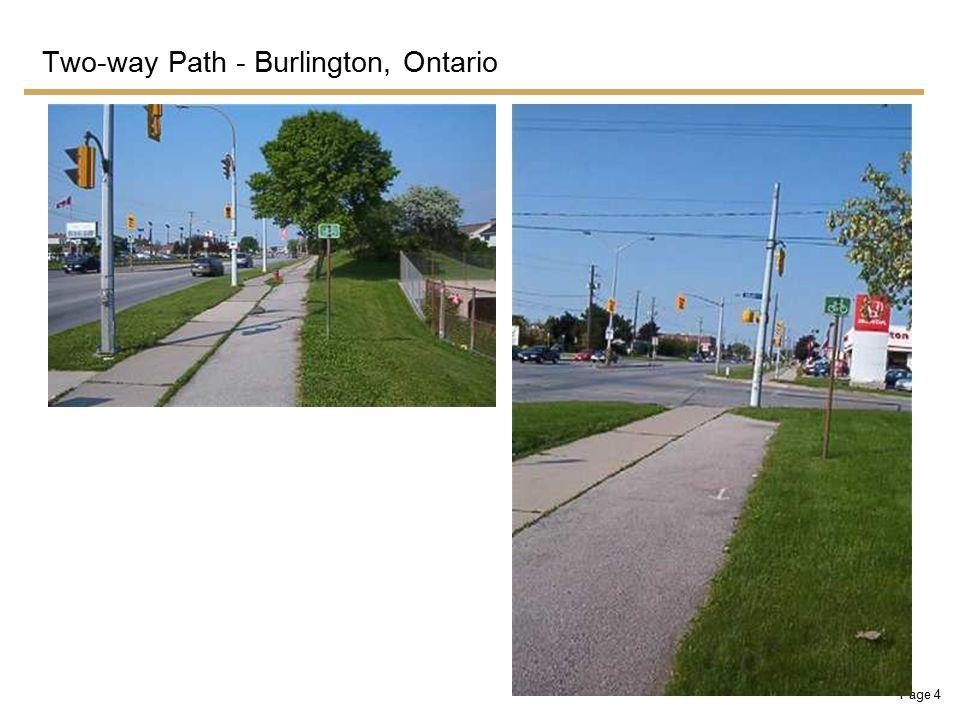 Page 5 Two-way Path - Eglinton Avenue West, Toronto