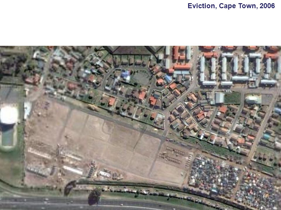 Eviction, Cape Town, 2006
