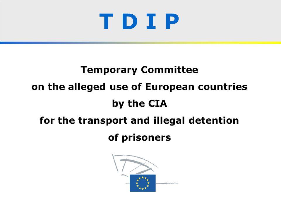 Terrorist attacks TDIP