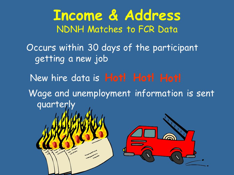 WHEN Do I Get The Data When employment information is added to the NDNH –W4, QW, UI