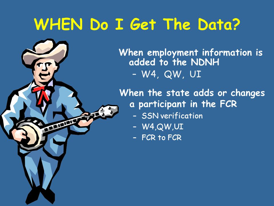 HOW Can I Use The Data?  Employment/ Income  Addresses  Assets  SSNs