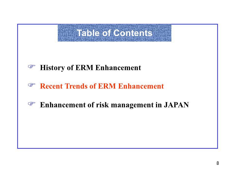 29 Quantification of Risks Use a common measure  such as economic value etc.