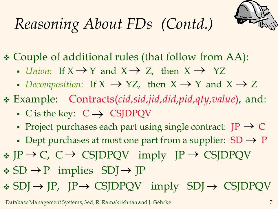Database Management Systems, 3ed, R.Ramakrishnan and J.