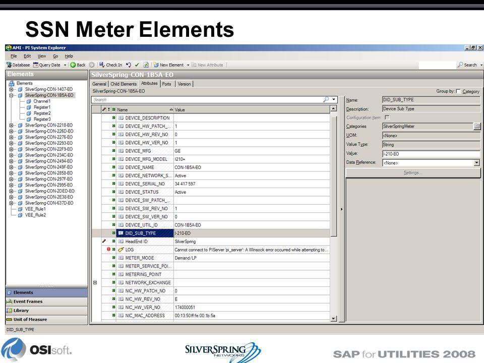 SSN Meter Elements
