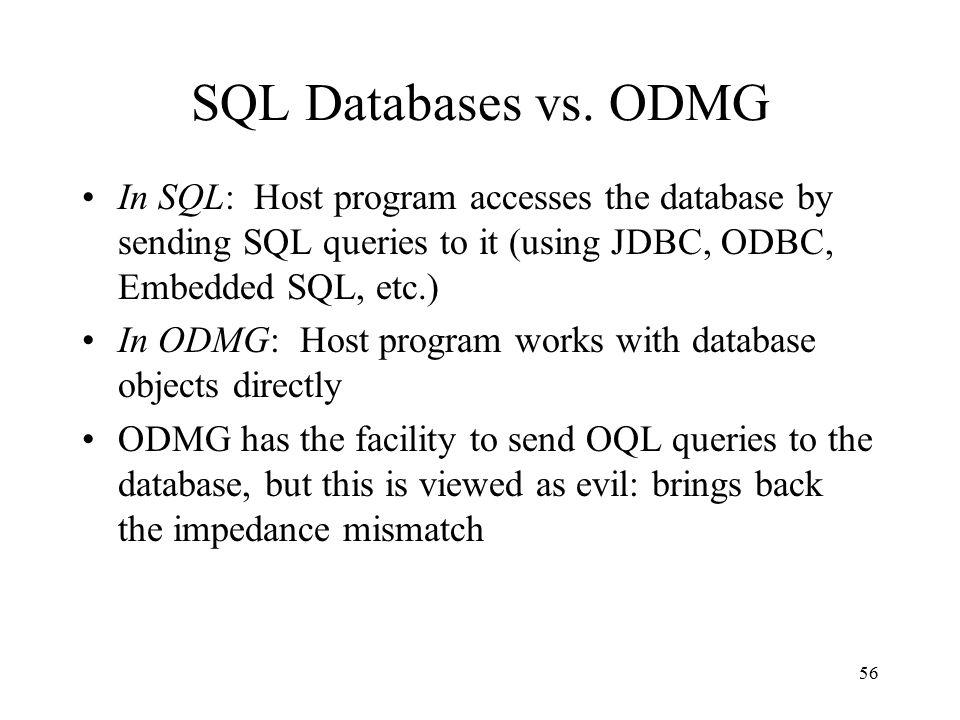 56 SQL Databases vs.