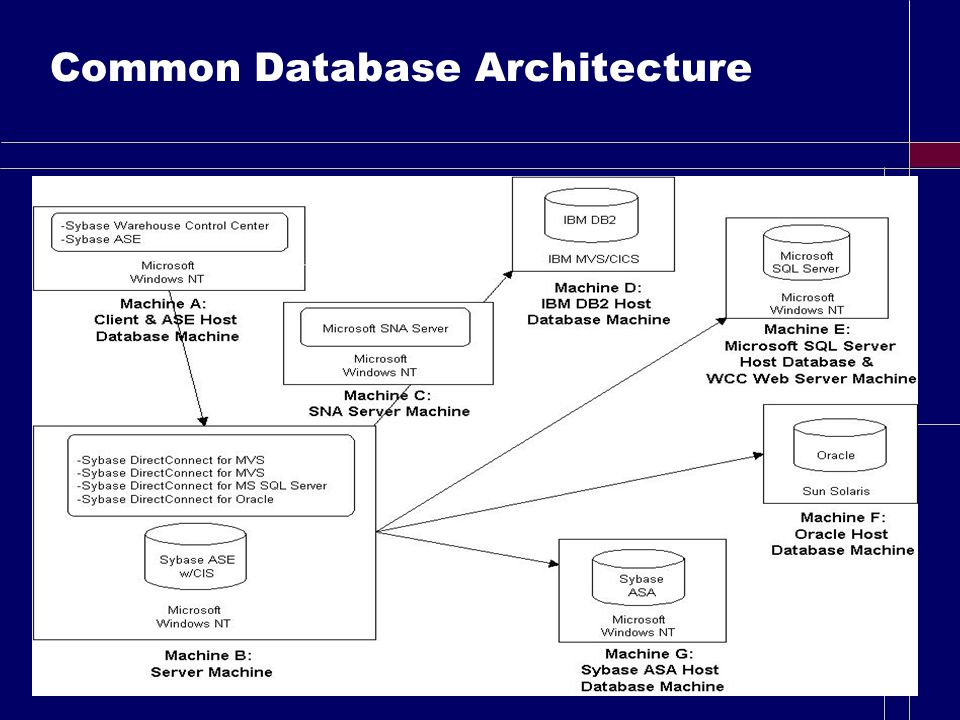 Common Database Architecture