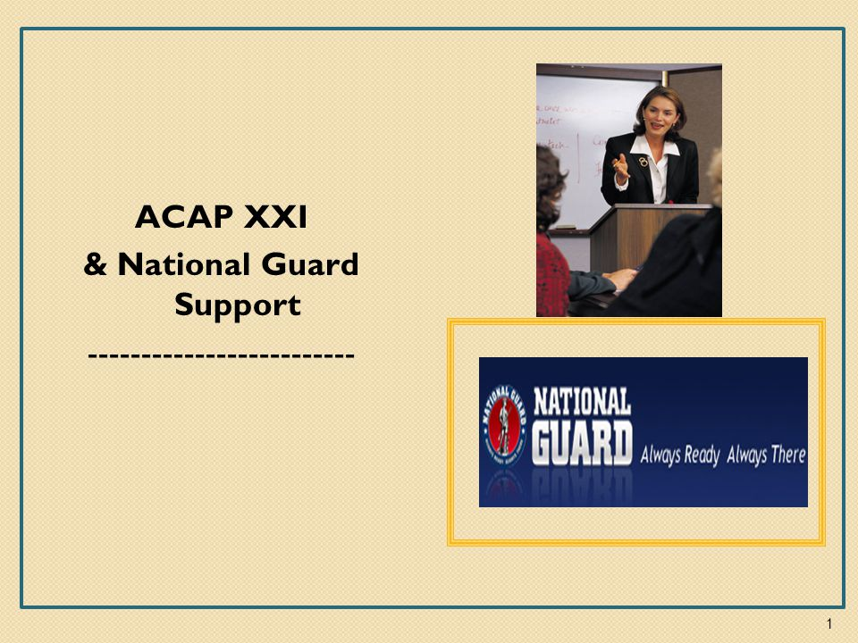 Army Career And Alumni Program (ACAP) Overview Provides transition and employment services to transitioning Active Duty and Reserve Component Service Members, Family Members, and DoD Civilians 2