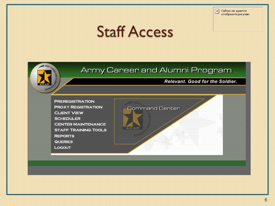 Staff Access 6