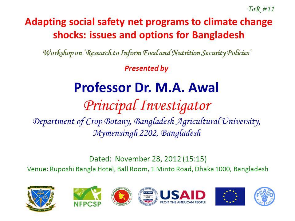 1.Professor Dr. M.A.