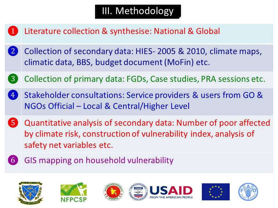Tools ● Focus Group Discussions (FGDs) ● Case Studies ● Participatory Rural Appraisal (PRA) Collection of primary data