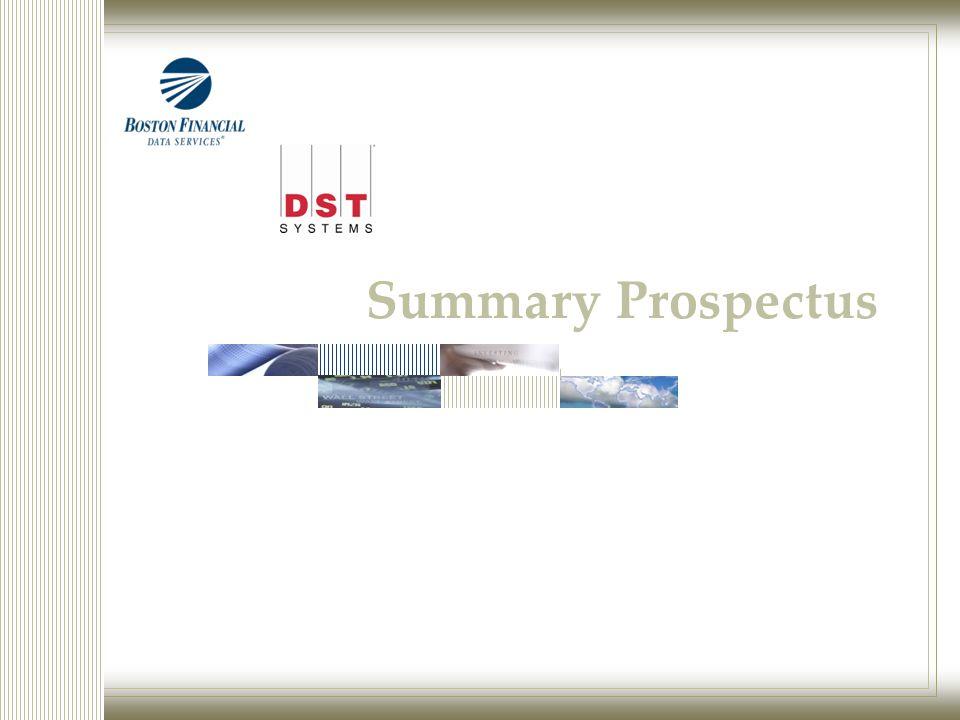 Summary Prospectus
