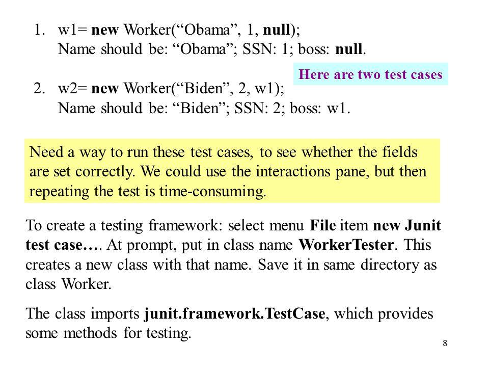 9 /** A JUnit test case class.