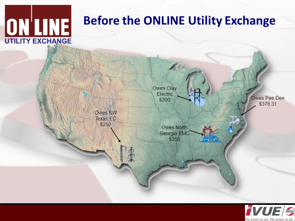 THE SOLUTION IS… Verify applicant's identity (Red Flag Rules) Assess the real risk in providing service Know the applicant's payment history with other utilities Report non payers to the Utility Exchange Enforce a disconnect policy that reflects deposit amounts