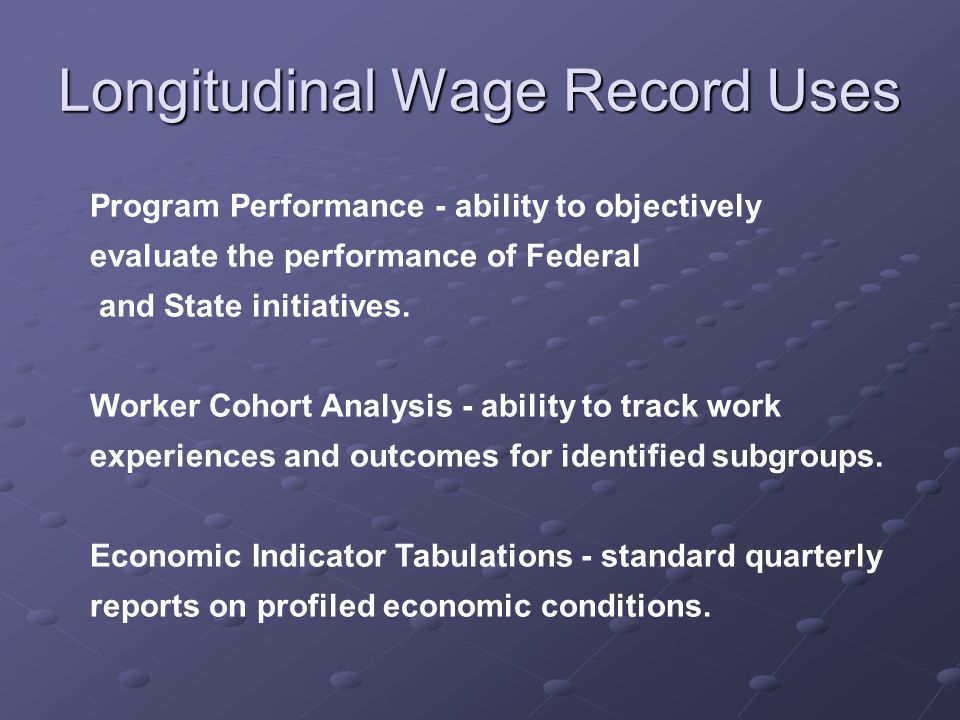 New Economic Indicators Stability Measures Measure Worker Flows Turnover Ratios