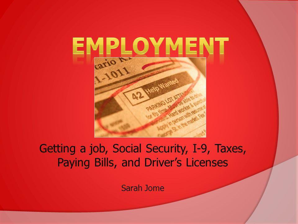 1.Attend Employment/OPT workshops 2. Determine your work authorization parameters 3.