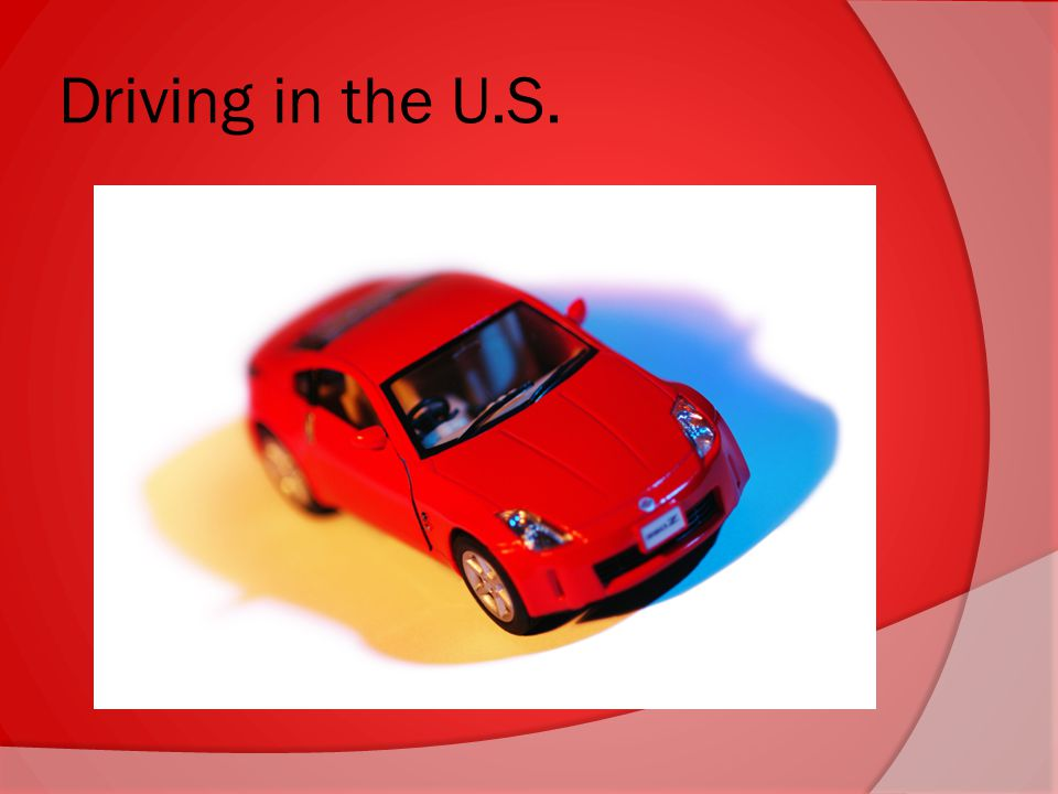 Driving in the U.S.