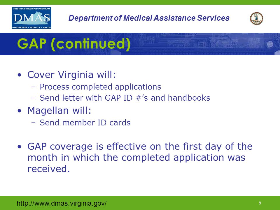 http://www.dmas.virginia.gov/ 49 Department of Medical Assistance Services Thank you… Thank you for viewing this presentation.
