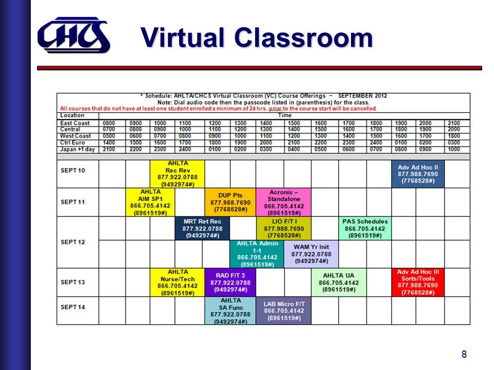 8 Virtual Classroom