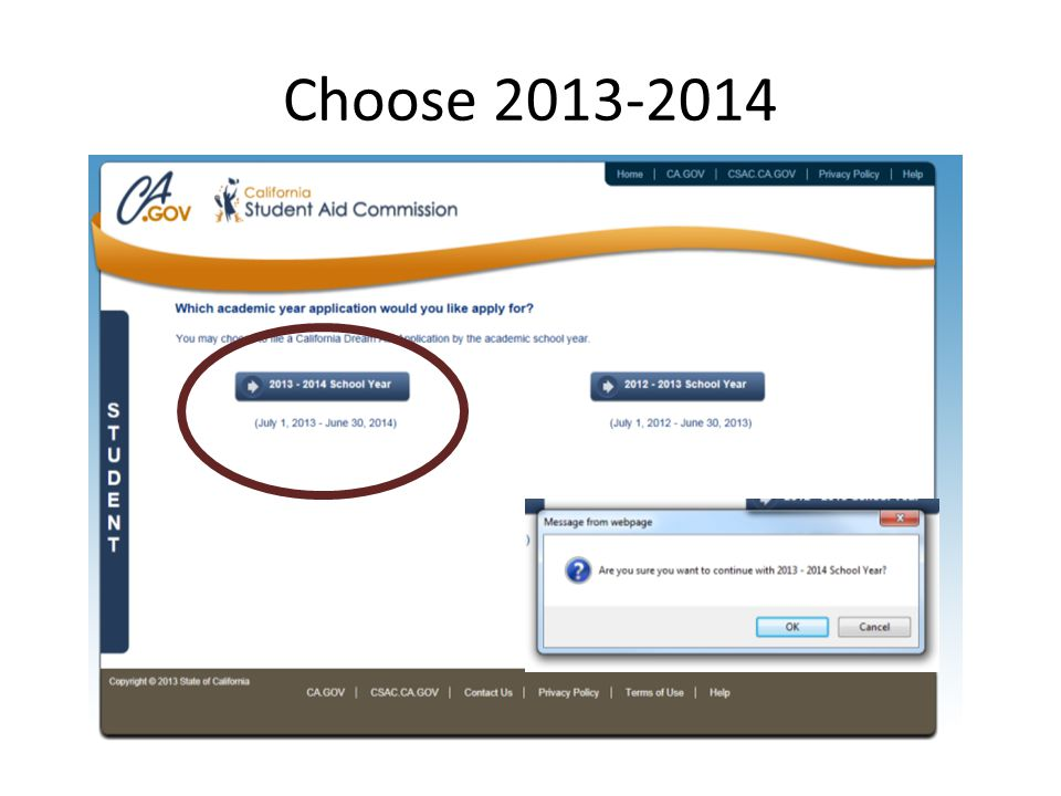Choose 2013-2014