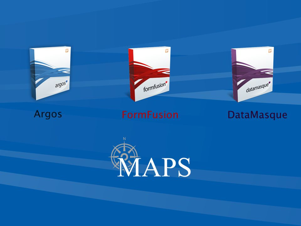  The finished product Argos (Windows): Argos Deployment Services Example A user can compare data from 2 – 5 years.