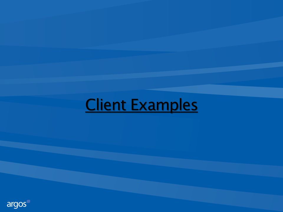 Client Examples
