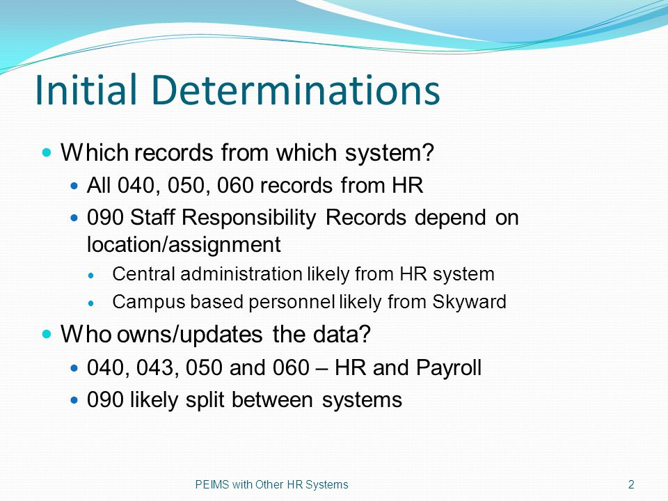 090s - System of Record 090 Staff Responsibility records for Central Admin staff produced by HR system – Supt., Asst.