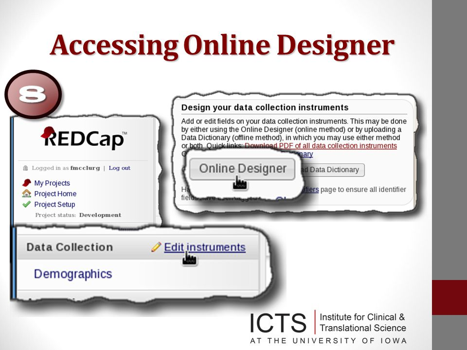 Accessing Online Designer