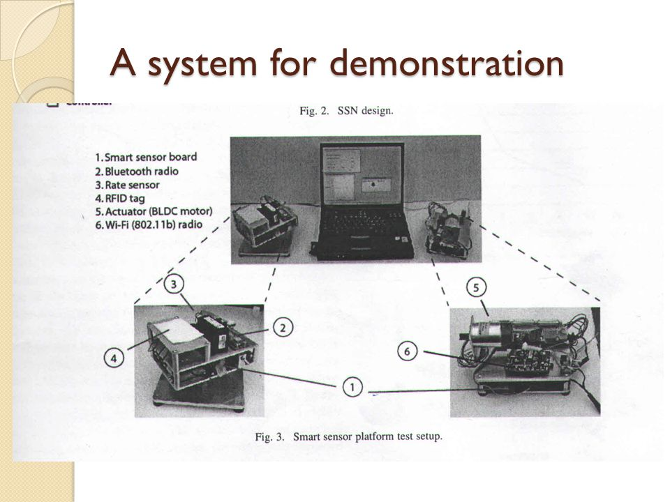 A system for demonstration