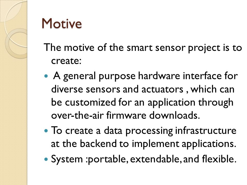 Real-Time Control Each sensor/actuator pair is connected to a SSI and uses Bluetooth to communicate with the central control unit.