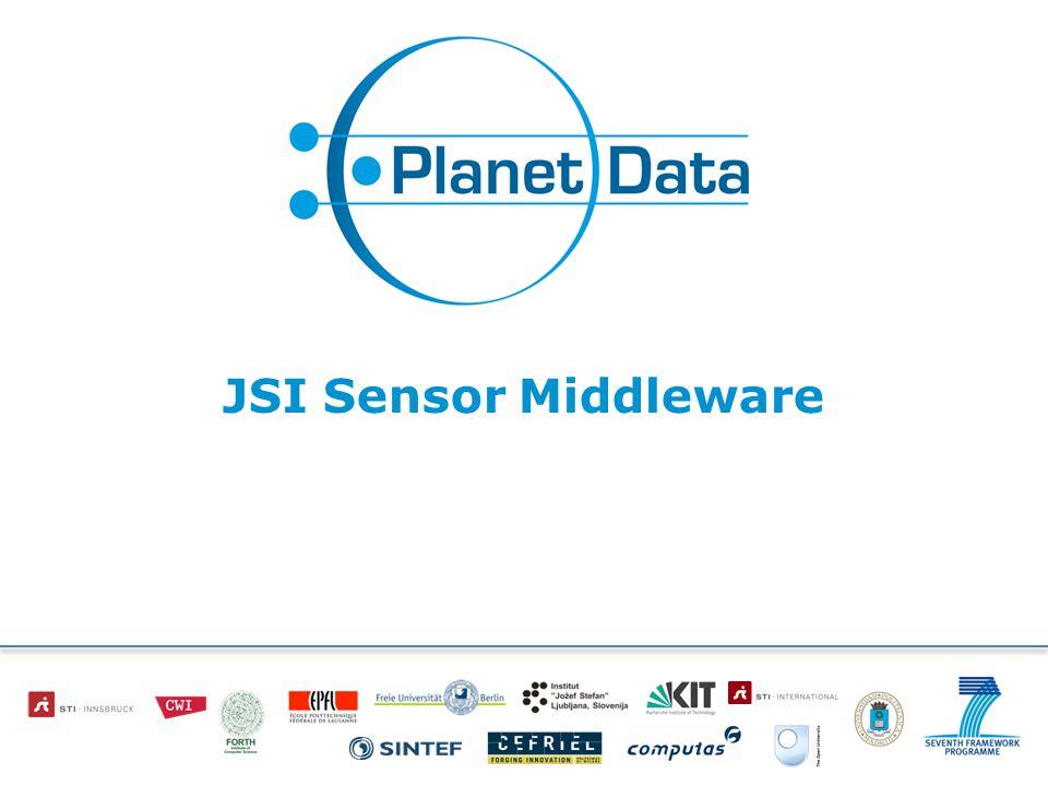 JSI Sensor Middleware