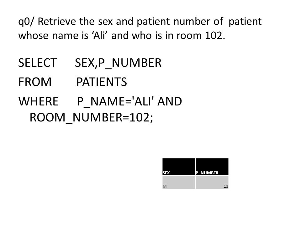 q0/ Retrieve the sex and patient number of patient whose name is 'Ali' and who is in room 102.